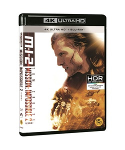BLU-RAY / MISSION IMPOSSIBLE 2 4K LE (BD+4K UHD)