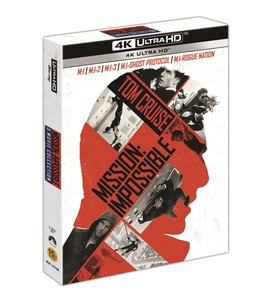 BLU-RAY / MISSION IMPOSSIBLE 5 MOVIE 4K ONLY COLLECTION (5 DISC)