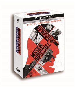 BLU-RAY / MISSION IMPOSSIBLE 5 MOVIE BD+4K UHD COLLECTION (10 DISC)