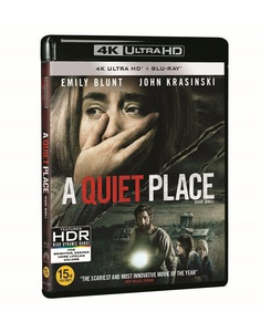BLU-RAY / A QUIET PLACE 4K LE (BD+4K UHD)