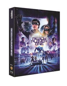 BLU-RAY / READY PLAYER ONE 4K STEELBOOK LE (BD+4K UHD)