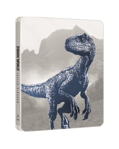 BLU-RAY / JURASSIC WORLD : FALLEN KINGDOM STEELBOOK LE (4K HUD+2D+3D)