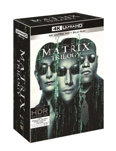 BLU-RAY / MATRIX TRILOGY COLLECTION 4K LE (9 DISC)