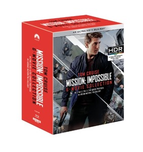 BLU-RAY / MISSION IMPOSSIBLE 6 MOVIE COLLECTION (BD+4K UHD 13 DISC)