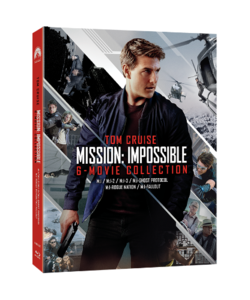 BLU-RAY / MISSION IMPOSSIBLE 6 MOVIE COLLECTION (ONLY BD 6 DISC)