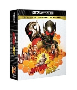 BLU-RAY / ANT-MAN AND THE WASP 4K STEELBOOK LE (2D+3D+4K UHD)