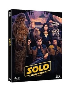 BLU-RAY / SOLO : STAR WARS STORY (2D+3D+BONUS DISC)