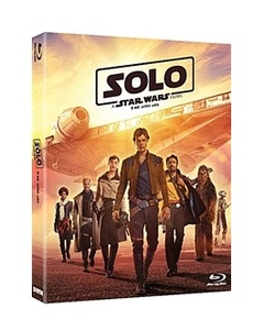 BLU-RAY / SOLO : STAR WARS STORY (2D+BONUS DISC)