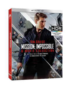 BLU-RAY / MISSION IMPOSSIBLE 6 MOVIE COLLECTION (ONLY 4K UHD 6 DISC)