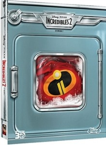 BLU-RAY / INCREDIBLES2 (2D+3D)