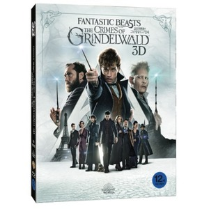 BLU-RAY / Fantastic Beasts: The Crimes of Grindelwald (2D+3D)