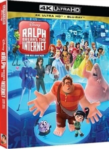 BLU-RAY / Ralph Breaks the Internet (4K UHD+2D)