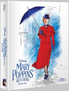 BLU-RAY / MARY POPPINS RETURNS STEELBOOK
