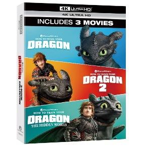 BLU-RAY / HOW TO TRAIN YOUR DRAGON TRILOGY (4K UHD ONLY)