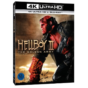 BLU-RAY / HELLBOY 2 ; The Golden Army (4K UHD+BD)