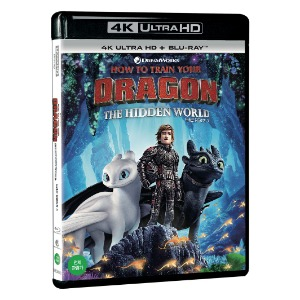 BLU-RAY / HOW TO TRAIN YOUR DRAGON : The Hidden World (4K UHD+BD)