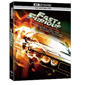 BLU-RAY / FAST AND FURIOUS 5 MOVIE 4K COLLECTION (4K UHD ONLY)