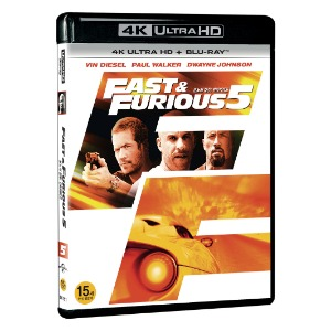 BLU-RAY / FAST AND FURIOUS 5 4K LE (BD + 4K UHD)
