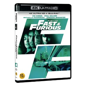 BLU-RAY / FAST AND FURIOUS 4 4K LE (BD + 4K UHD)