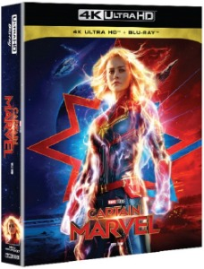 BLU-RAY / CAPTAIN MARVEL 4K STEELBOOK LE (BD+4K UHD)