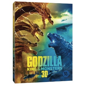 BLU-RAY / GODZILLA ; King of the Monsters (2D+3D)