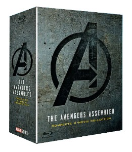 BLU-RAY / Avengers 4-MOVIE BD COLLECTION