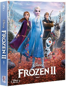 BLU-RAY / Frozen 2 Steelbook (2disc: BD + OST CD)  Limited Edition