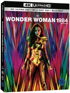 BLU-RAY / Wonder Woman 1984 FIRST RELEASE EDITION  with outcase (3 DISC: 4K UHD+3D+2D)