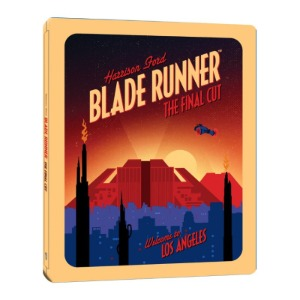 BLU-RAY / Blade Runner Final Cut Steelbook Limited Edition (3disc: 4K UHD + 2D BD + Bonus DVD)