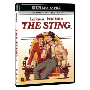 BLU-RAY / THE STING  LE (2Disc, 4K UHD+BD) (no outcase)