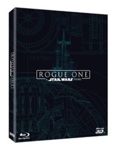 BLU-RAY / ROGUE ONE STEELBOOK LE 3 DISC (2D+3D+BONUS DVD DISC)