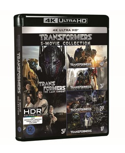 BLU-RAY / TRANSFORMERS 5 MOVIE 4K UHD COLLECTION (5 DISC)