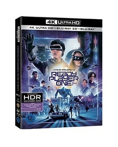 BLU-RAY / READY PLAYER ONE 4K 3DISC LE (2D+3D+4K UHD)