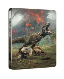 BLU-RAY / JURASSIC WORLD : FALLEN KINGDOM STEELBOOK LE (2D+3D)