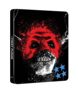 BLU-RAY / THE FIRST PURGE 4K STEELBOOK LE (BD+4K UHD)