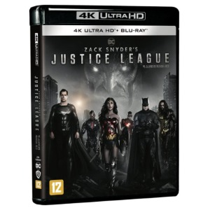 BLU-RAY / Zack Snyder's Justice League (4Disc 4K UHD + BD)